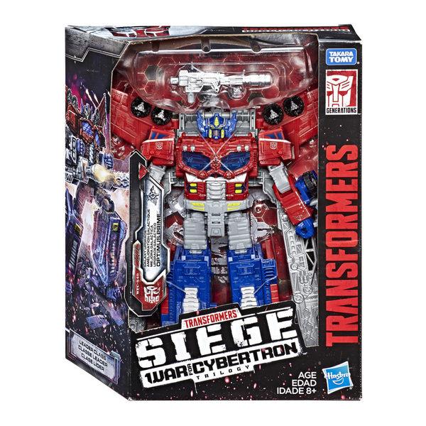 變形金剛塞博坦之戰WFC 圍城Siege Leader級 無敵戰將 銀河柯博文 Optimus prime TOYeGO 玩具e哥