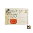 【收藏天地】印章明信片*踢踢企鵝 ∕  印章 擺飾 送禮 趣味 文具 創意 觀光 記念品