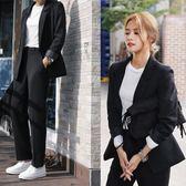 西裝套裝 小西服女士休閒外套寬鬆大碼正裝韓版職業西裝女 迪澳安娜