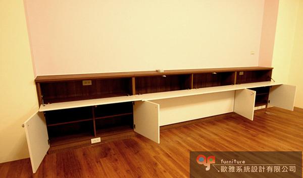 【歐雅系統家具】系統家具 系統收納櫃 床頭邊櫃設計 原價52970 特價37080
