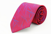 【Alpaca】紅底藍紋領帶