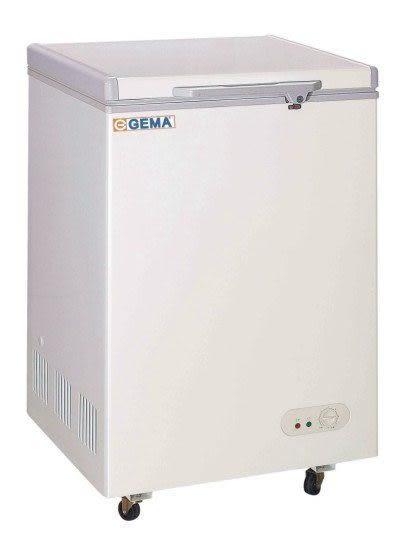 GEMA至 鴻  5BD-108 密閉式冷凍櫃【2尺 冰櫃】容量:108L