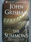 【書寶二手書T3/原文小說_LQR】The Summons_John Grisham