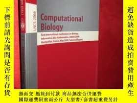二手書博民逛書店Computational罕見Biology: First In