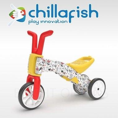 【愛吾兒】比利時 Chillafish 米奇米妮學步車/平衡車/滑步車