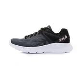 FILA 女款黑色慢跑鞋-NO.5J028U052