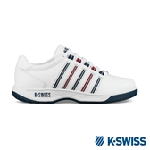 K-SWISS Court Pacoima時尚運動鞋-女-白/藍/紅