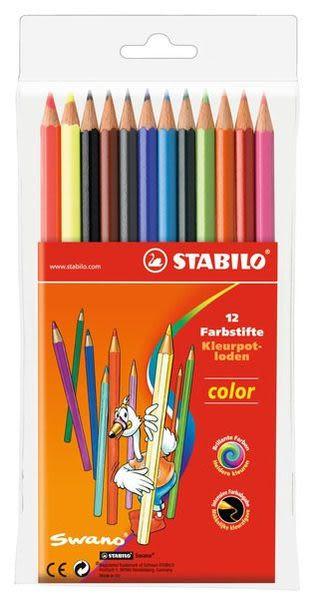 STABILO 色鉛筆 38色 original系列 細線高硬度色鉛筆 38色鐵盒裝(型號:8778-6)