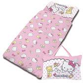 【享夢城堡】HELLO KITTY 我的最愛-精梳棉冬夏兩用兒童睡袋