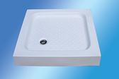【麗室衛浴】方型壓克力淋浴底盆100*100*13 / 100*90*13 CM 2款 尺寸可選擇 B-507