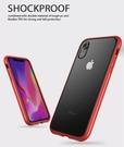 【默肯國際】IN7 魔影系列 iPhone XR (6.1吋) 透黑色磨砂款TPU+PC背板 防摔防撞 手機保護殼