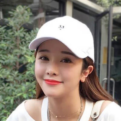 鴨舌帽 數字刺繡嘻哈帽 男女 (3色)【Ann梨花安】
