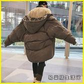 棉衣男中長款冬季外套男士冬裝棉服