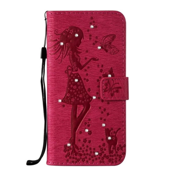 SONY XA1 Plus XZ1 XZ1 Compact XZ Premium 手機皮套 皮套 鑲鑽 水鑽皮套 插卡 內軟殼 點鑽仙子