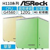 【分期0利率】「打造生活品質 - 平民款」:G4560雙核、4G、120G SSD