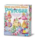 【4M】美勞創作DIY 亮麗長髮公主 製作磁鐵 Mould & Paint Glitter Princess 00-03528