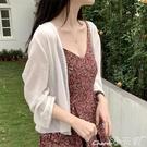 薄外套寬鬆花邊雪紡防曬衣女2021夏新款...