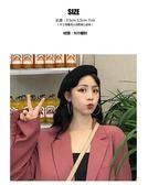 韓國個性百搭925銀耳圈chic耳飾