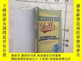 二手書博民逛書店dissertation罕見skills 學位論文技巧Y1635