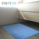 Buy917 【ENJOY101】矽膠布吸水防滑地墊(薄型快乾)-60x40cm 海洋藍 / MIT