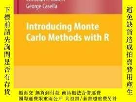 二手書博民逛書店Introducing罕見Monte Carlo Methods With R (use R)-引入蒙特卡羅方法與