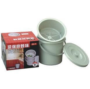 【聯府KEYWAY】D-7 環保廚餘回收桶 (7L)