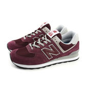 NEW BALANCE 574系列 運動鞋 跑鞋 經典款 酒紅色 男鞋 ML574EGB no392