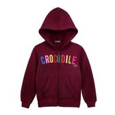 ~小鱷魚 ~logo 刷毛連帽外套08 號18 號552750