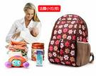 [預購]多功能雙肩媽媽包 可愛韓版親子媽媽包母子包 廠家生產放走丟包 (F0091)