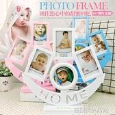 創意相架相框DIY手工定制圖片相冊擺台制作寶寶兒童生日紀念禮物 【優樂美】