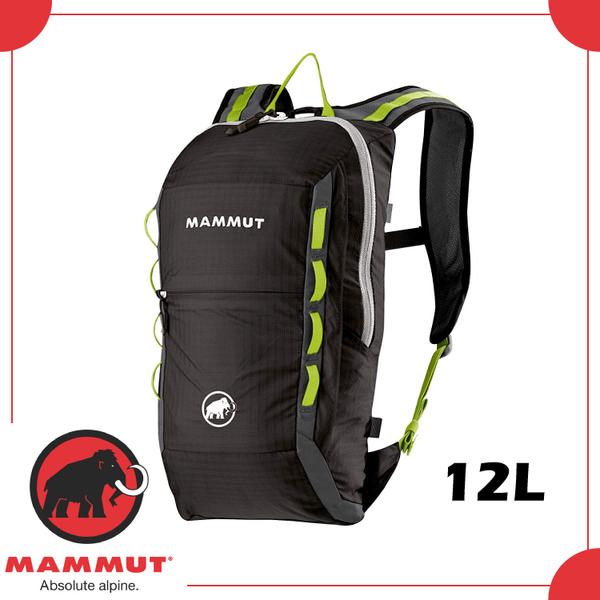 【MAMMUT NEON LIGHT 12L 後背包《石墨灰》】2510-02490/輕量雙肩背包/登山攻頂包/攀岩背包