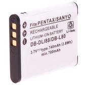 Kamera Sanyo DB-L80 高品質鋰電池 CG10 CG11 CG20 CG100 CS1 CA100 GH1 X1200 X1420 保固1年 DBL80