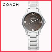 【僾瑪精品】COACH  SIGNATURE-百搭設計時尚腕錶(銀-31mm-14501632)
