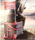 釣箱 釣箱全套新款漁具多功能釣魚箱款特價箱超輕箱子裝備 618大促銷YJT