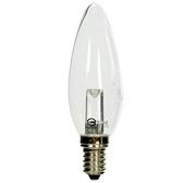 凌尚LED燈泡 1W E14 長尾 白光