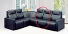 HY-608-4   L型發-中椅-黑色...