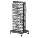 [ 家事達 ] 樹德MS-16000單面  掀開式零物件快取車- 60格抽屜   特價  收納箱/整理箱