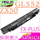 ASUS A41N1424 電池(保固最久)-華碩 FX-PLUS ,ROG FX-PLUS,FX-PLUS4200,FX-PLUS4720,GL552,ZX50JX ,GL552JX