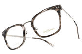 PAUL HUEMAN 光學眼鏡 PHF5104A C03 (琥珀灰-銀) 時尚細紋款 韓國眼鏡 # 金橘眼鏡