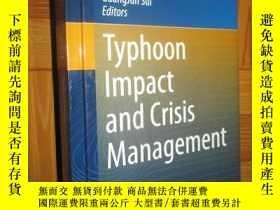 二手書博民逛書店Typhoon罕見Impact and Crisis Manag