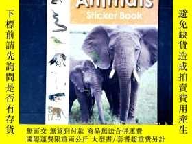 二手書博民逛書店Animals罕見sticker BookY325618