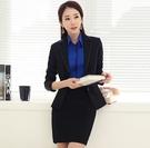 OL黑西裝裙~*艾美天后*~裙子職業女裝商務面試裝垂感西服套裝修身顯瘦正裝工作裝