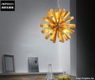 INPHIC- 北歐咖啡館實木吊燈美式個性田園現代簡約木藝燈飾日式餐廳木頭燈-B款_S197C