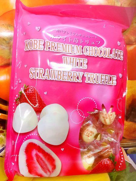 日本原裝現貨 草莓松露巧克力 (每包17顆)