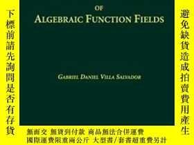 二手書博民逛書店Topics罕見In The Theory Of Algebraic Function Fields-代數函數場理