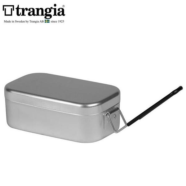 『VENUM旗艦店』Trangia 瑞典方形鋁製便當盒/煮飯神器 Mess Tin TR-210 小黑把手 500210