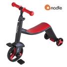【預購-10月中到貨】Nadle 三合一多功能三輪滑步車/滑板車/三輪車 -紅