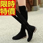過膝馬靴-俏麗迷人皮革女長靴62l6【巴黎精品】