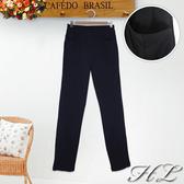 .HL超大尺碼.【20050005】優雅OL彈力修身窄管長褲 1色