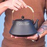 大容量提梁壺復古茶壺粗陶涼養生壺水壺花茶壺 SUPER SALE 快速出貨